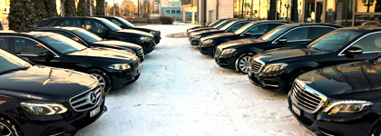 Limousine Service during the WEF in DAVOS