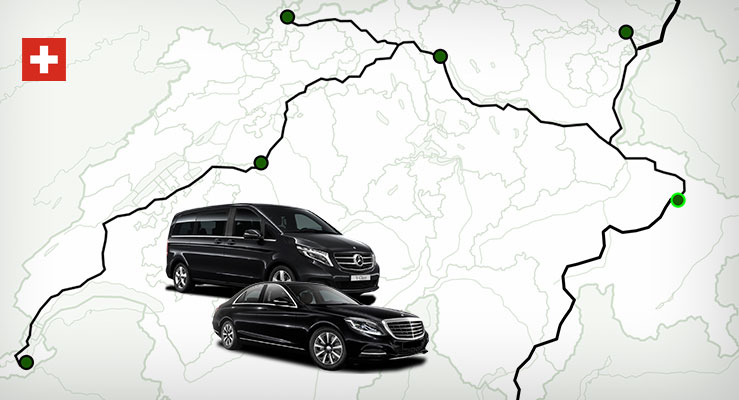 Transfer Davos Map Limousine